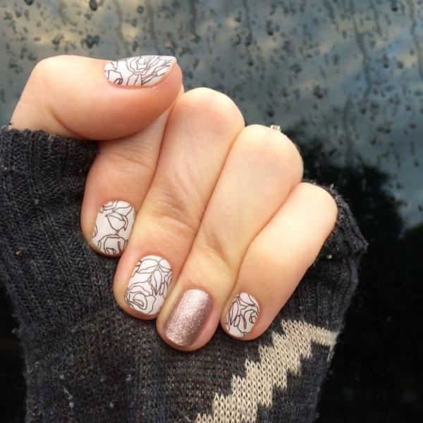 Nail, Manicure, Nail polish, Finger, Nail care,