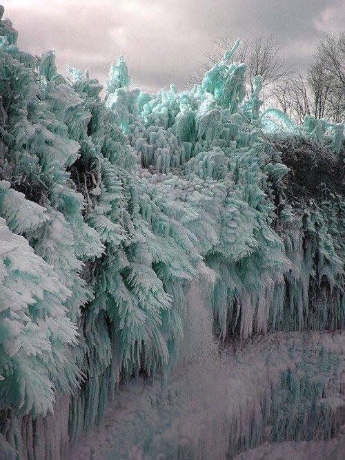 Now That's Frozen...