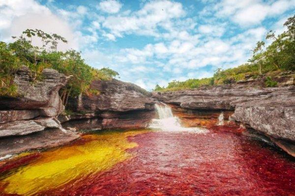 Five Colors River in Meta, Columbia