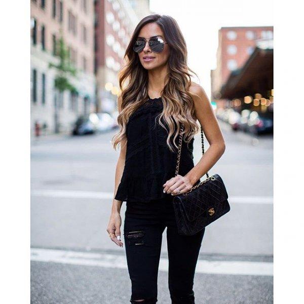 clothing, black, sleeve, outerwear, footwear,