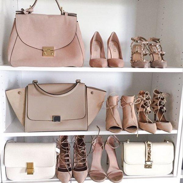 handbag, bag, footwear, brown, shoe,