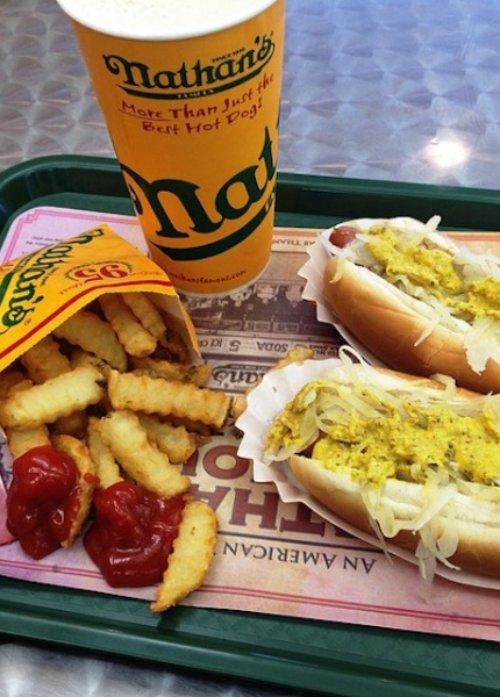 hot dog variations, hot dog, chicago style hot dog, food, fast food,