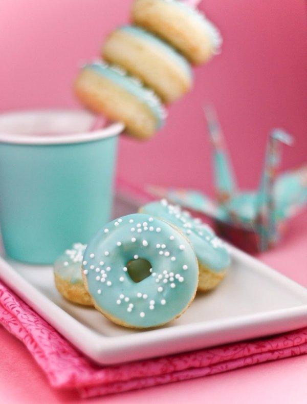 Vanilla Bean Baby Doughnuts