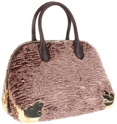 Love Moschino Astrakan Shoulder Bag
