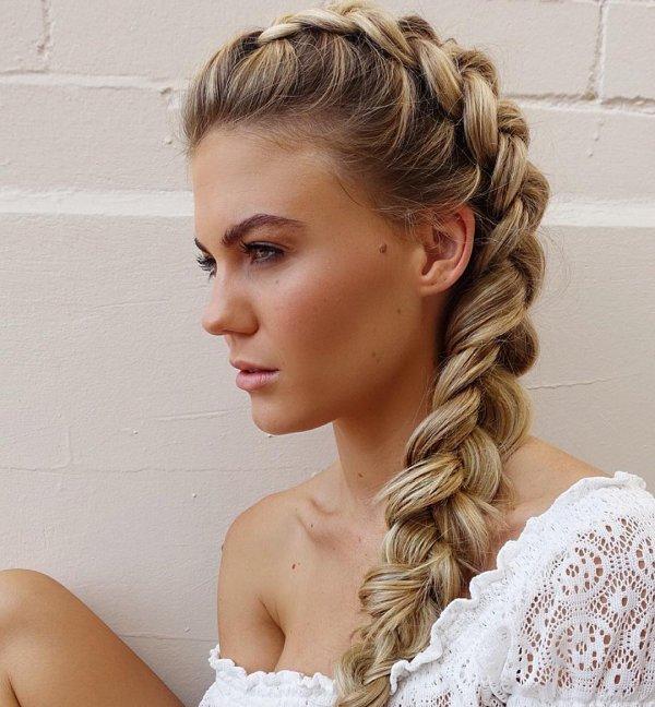 Her Dutch Braid