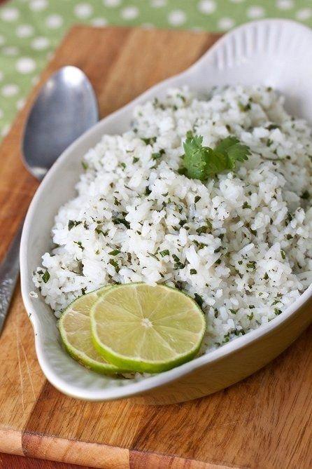 Famous Cilantro Lime Rice