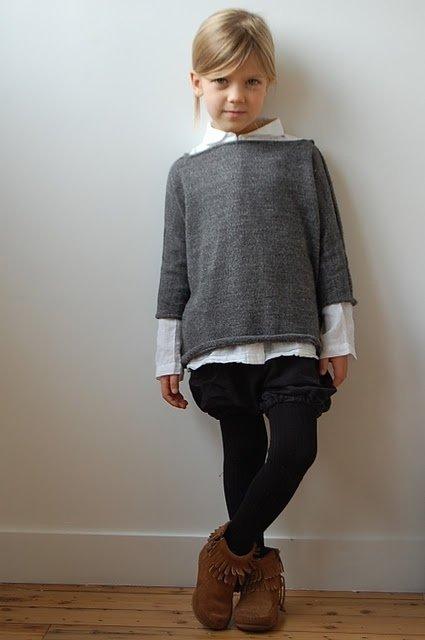 Collar under a Sweater