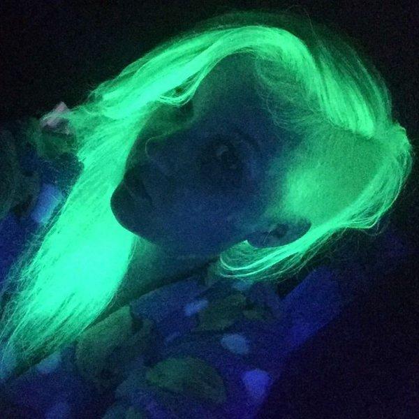 Her Neon Undercut