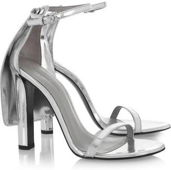 Alexander Wang Fabiana Metallic Leather Sandals