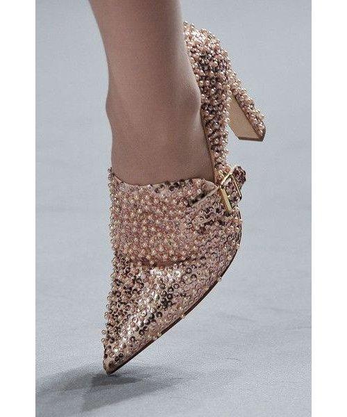 Footwear, Shoe, Beige, Ankle, High heels,