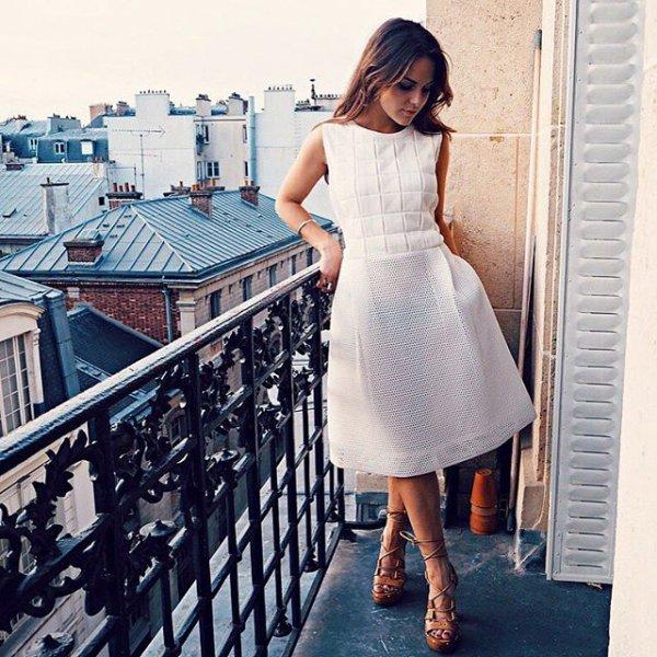 dress, white, clothing, blue, photography,