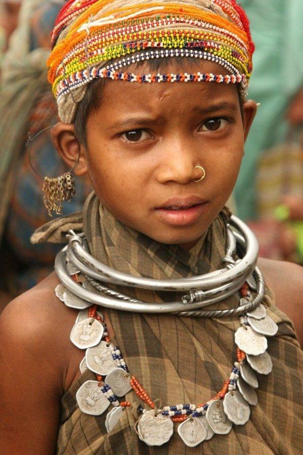 Young Bonda Woman