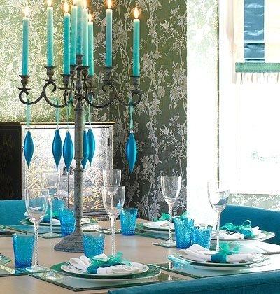 Blue Decorations