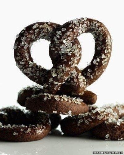 Cocoa Pretzels