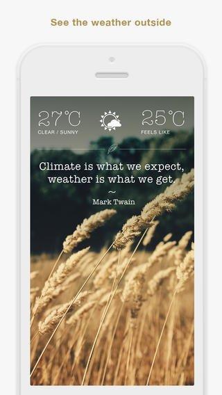 Weathergram- Nature Lovers