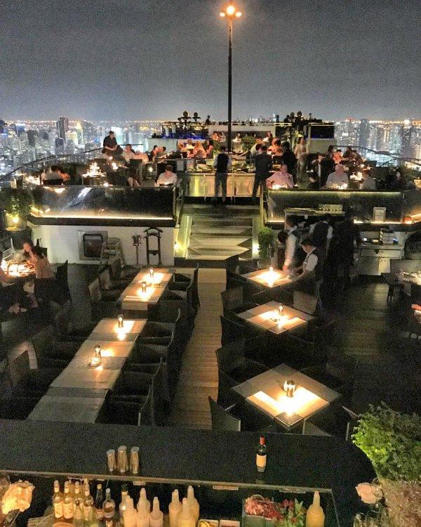 restaurant, night,