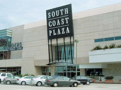South Coast Plaza, California