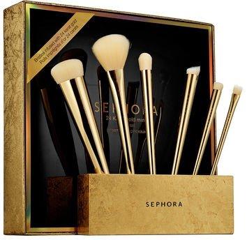 SEPHORA COLLECTION 24 Karat Gold Mine Brush Set