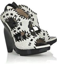 Proenza Schouler Curved Wedge Sandals