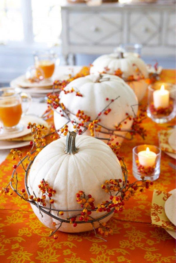 Use White Pumpkins