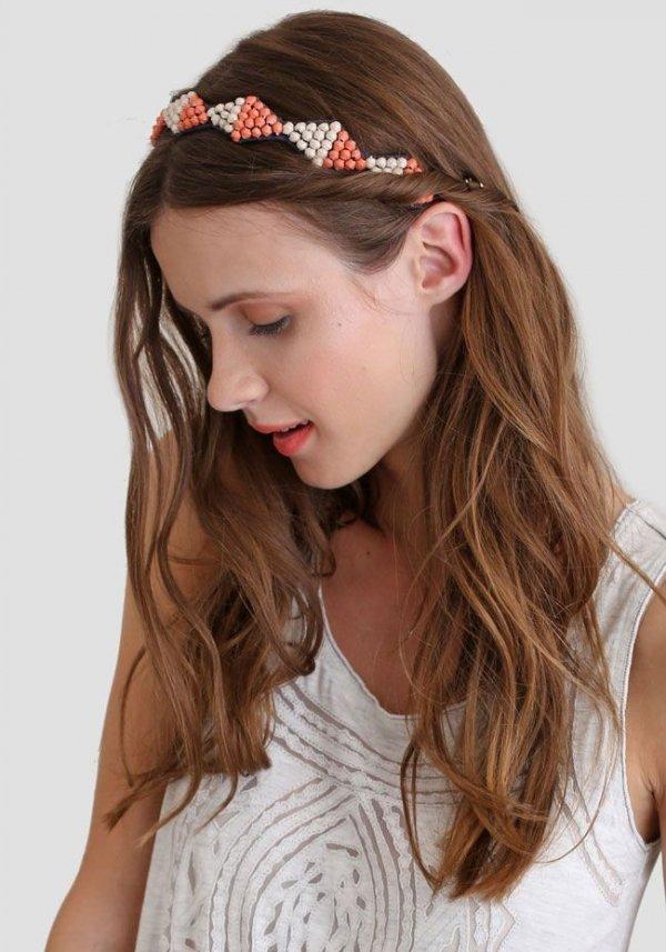 Rhombus Wreath Headband