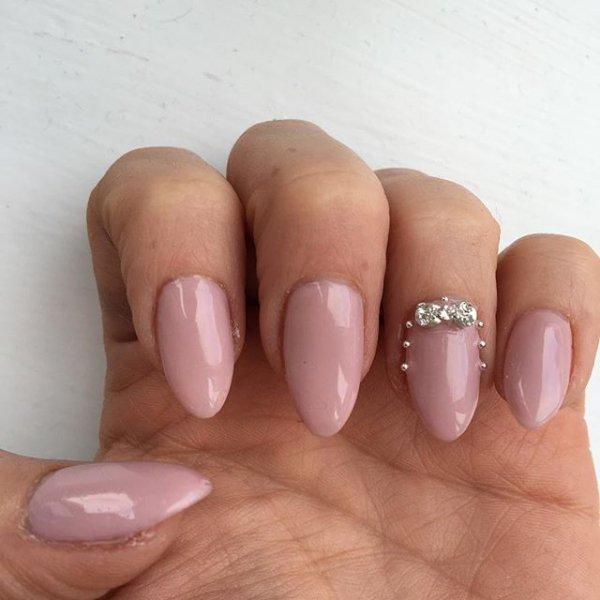 nail, finger, nail care, nail polish, pink,