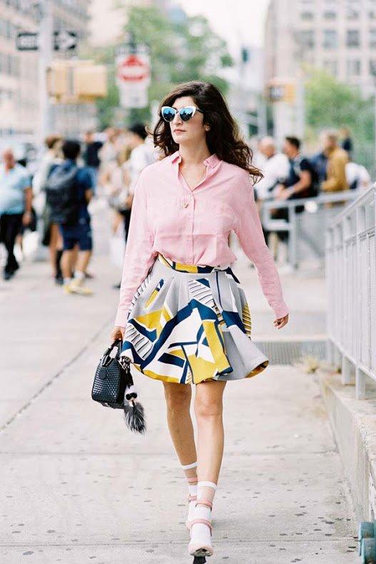 Patterned Skirts Scream Spring!