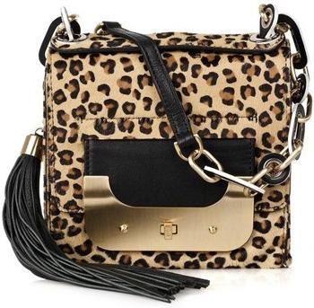 Diane Von Furstenberg Calf Hair Shoulder Bag