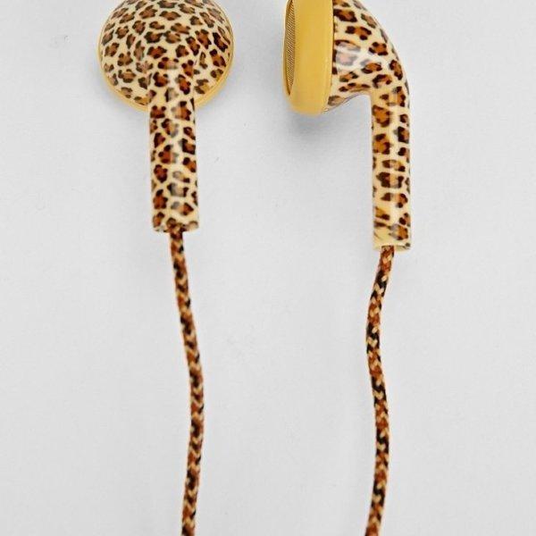 Happy Plugs Animal Print Earbuds