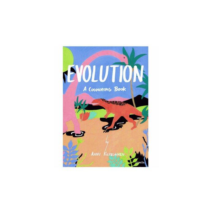 Evolution: a Coloring Book
