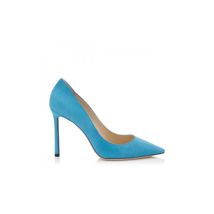 footwear, blue, turquoise, electric blue, high heeled footwear,
