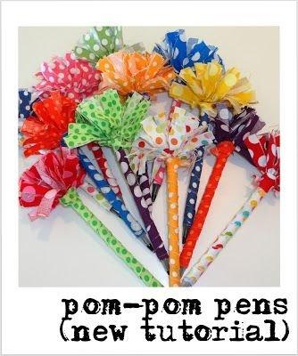 Pom Pom Pens