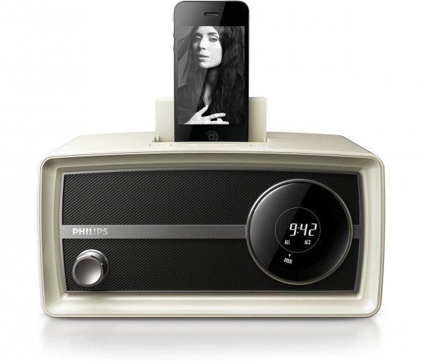 Original Radio Mini, Cream, for 30 Pin IPod/iPhone