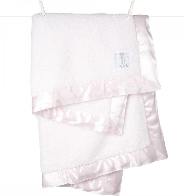 "Chenille Blanket, 29"" X 35"", Pink"