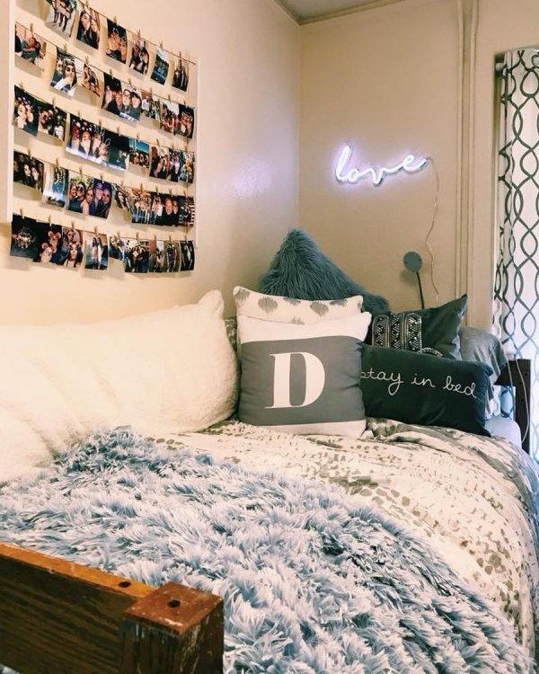 Bedroom, Furniture, Bed, Room, Wall,