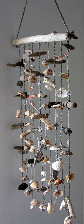 Driftwood Sea Shell Mobile
