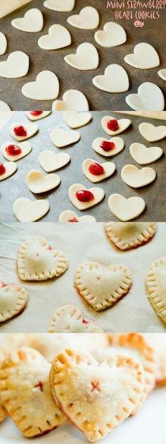 Fruity Mini Hearts