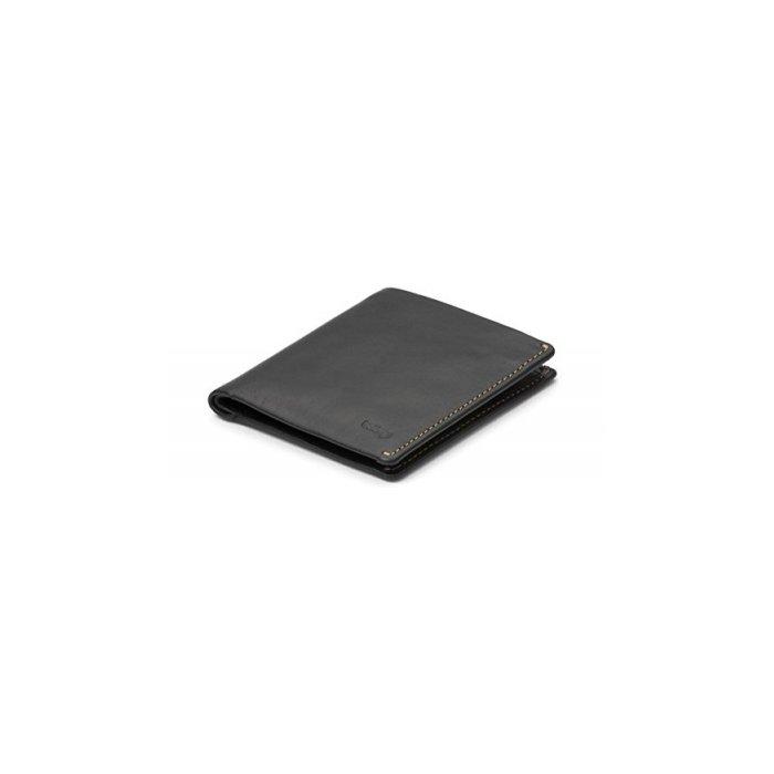 Bellroy Men's Leather Note Sleeve Wallet Black