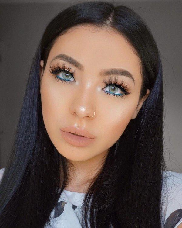 face, eyebrow, hair, black hair, nose,