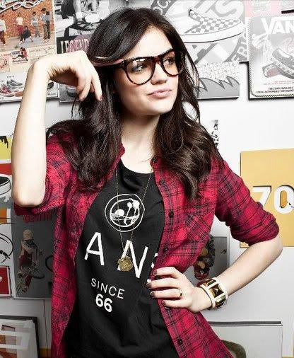 She Wears Fake Glasses