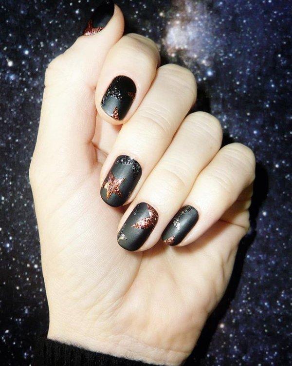 nail, black, manicure, nail care, finger,