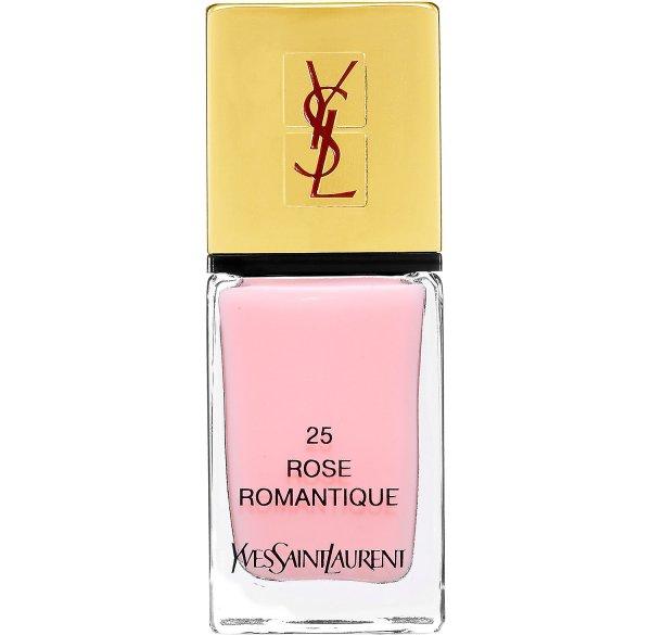 Yves Saint Laurent LA LAQUE COUTURE Nail Lacquer in Rose Romantique