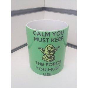 Yoda Star Wars Mug Cup