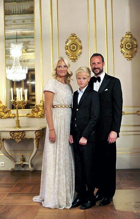 Crown Princess Mette-Marit, Marius Høiby and Crown Prince Haakon