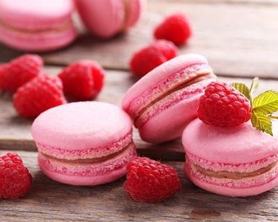 macaroon, dessert, frozen dessert, sweetness, berry,
