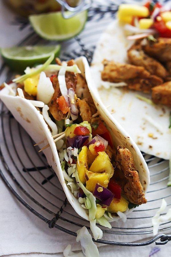 Dish, Food, Cuisine, Taco, Korean taco,