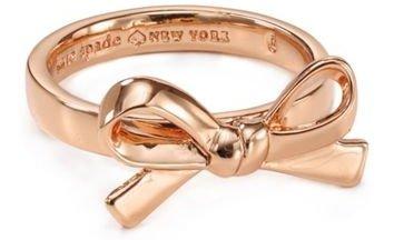 Kate Spade New York Skinny Mini Bow Ring