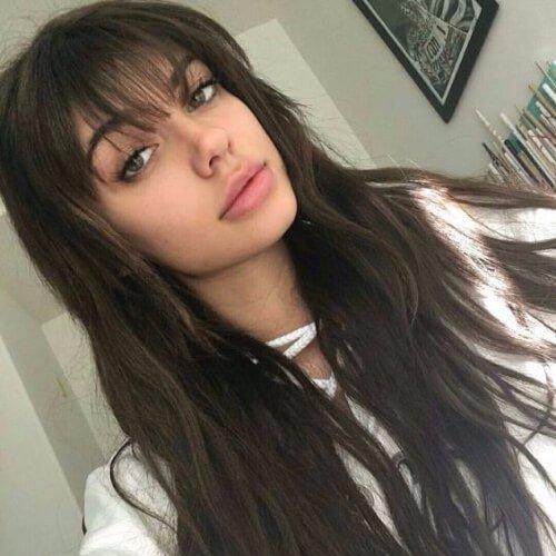 hair, human hair color, hairstyle, eyebrow, long hair,