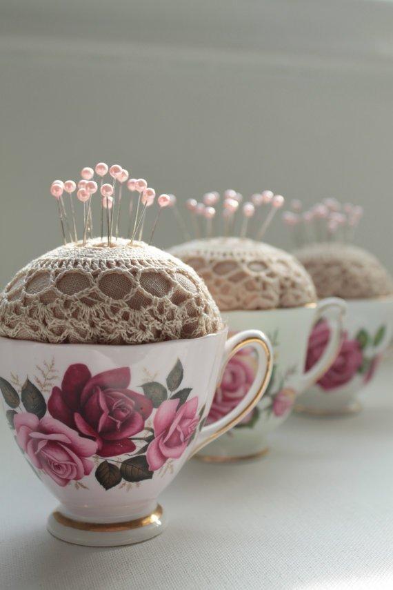Make a China Tea Cup do an Impression of a Hedgehog