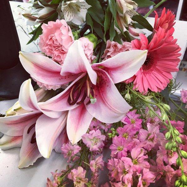 flower, plant, pink, flower arranging, flora,